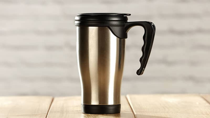 Keep Your Coffee Hot With A Stainless Steel Travel Coffee Mug